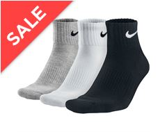 Cotton Half-Cushion Sock 3 Pack