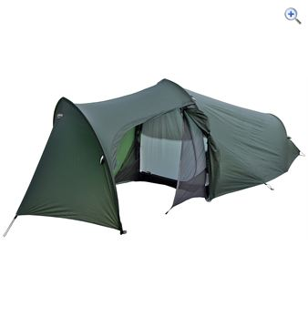 Lightwave t10 Trek XT Backpacking Tent - Colour: Green