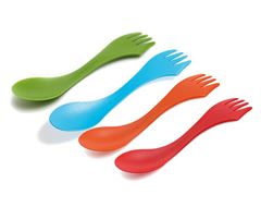Spork, 4 Elements (Pack of 4)