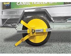 "Full Face Wheel Clamp for Trailers (8"" - 10"")"