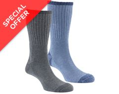 Men's Walking Socks (2 Pair Pack)