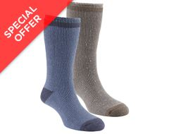 Men's Heat Trap Socks (2 pair pack)