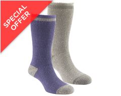 Women's Heat Trap Socks (2 pair pack)