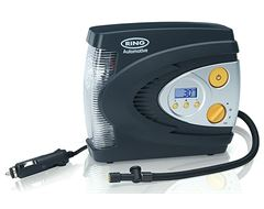 12V Automatic Digital Air Compressor with LED Light