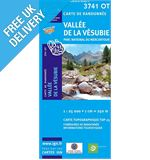 'Top 25' Series: 3741 OT Vallee de la Vesubie/ PN du Mercantour Map