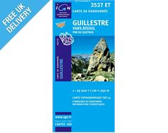 'TOP 25' Series: 3537 ET Guillestre/ Vars Risoul/ PNR du Queyras Map