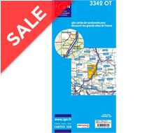 'TOP 25' Series: 3342 OT Manosque/ Foralquier/ PNR du Luberon Map