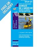 'TOP 25' Series: 2939 OT Gorges de l'Ardeche/ Bourg-st-Andeol Map