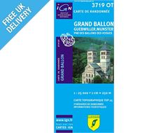 'TOP 25' Series: 3719 OT Grand-Ballon/Guebwiller/Munster/Pnr des Ballons des Vosges Map