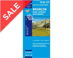 'TOP 25' Series: 3536 OT Briancon/Serre-Chevalier/Montgenevre Map