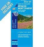 'TOP 25' Series: 3535 OT Nevache/Mont Thabor/Cols du Galibier et du Lautaret Map