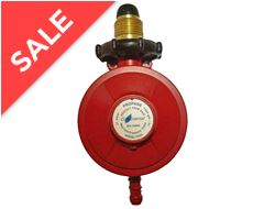 Propane Handwheel Regulator with Reinforced Diaphragm