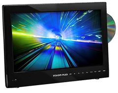 "Vision Plus 15.6"" Portable Digital LED TV & DVD Player"