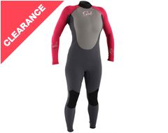 Junior Girl's Response 3-2mm Flatlock Steamer Wetsuit