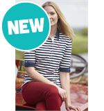 Delia Ladies&#39; Striped Top