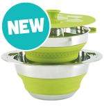 Collaps Pot with Colander (4.5 litre)