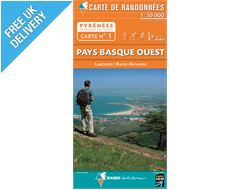 Pyrenees Map 01, Pays Basque West