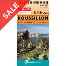 Pyrenees Map 11, Roussillon Map