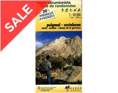 Pyrenees Map 20, Puigmal-Costabona