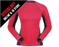 MeCo 120 Long Sleeve Women's Tee