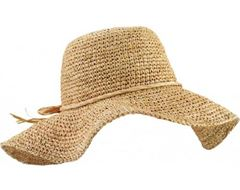 Seagrass Women's Wide Brim Straw Hat