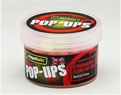 Fluro Pop-ups Strawberry, 50g