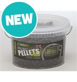 8mm Drilled Halibut Pellets, 650g