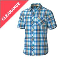 Dexter Plaid Men's Short Sleeve Shirt