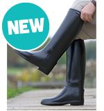 Men's Long Rubber Riding Boots