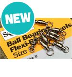 Ball Bearing Flexi-Ring Swivels x 8