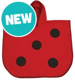 Ladybird Animal Poncho Towel