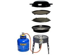 Safari Chef LP Portable Gas Barbecue