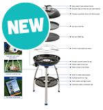 Carri Chef 2 Combo - Barbecue, Chef Pan &amp; Pot Stand
