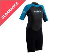G-Force 3mm Flatlock Shorti Junior Wetsuit