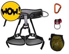 Pilot Harness and Belay Set