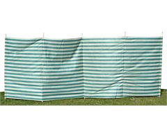7-Pole Family Windbreak (Green Stripe)