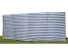5 Pole Family Windbreak (Navy Stripe)