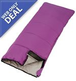 Pacific Junior Sleeping Bag (Violet)