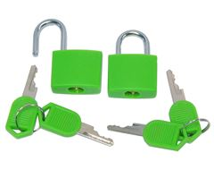 Key Padlocks (Pair)