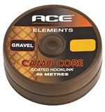 Camo Core Coated Hooklink, Gravel, 15lb
