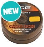 Camo Core Coated Hooklink, Gravel, 20lb