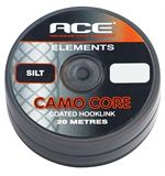 Camo Core Coated Hooklink, Silt, 15lb