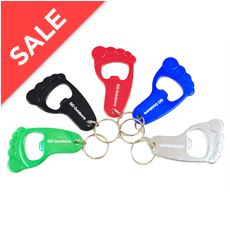 Foot Bottle Opener Keyring