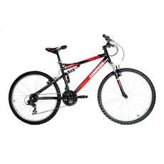55 Degree North Steel Full Suspension Mountain Bike
