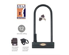 Challenger 260 Sold Secure Bronze 'D' Bike Lock