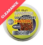 Adventure Multi Fish Soft Hookers, 4-6mm, 35g