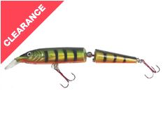 Warbird Minnow Jointed Plug, Perch, 10cm, 8.5g