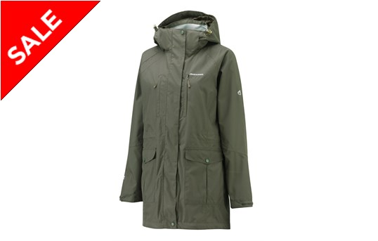 Craghoppers Madigan Long Women's Waterproof Jacket | GO Outdoors