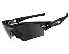 Radar Path Sunglasses (Polished Black/Grey)