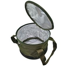 Bait Bin with Handles and Zip Cover